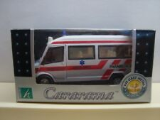 Cararama 1/43 Mercedes Minibus EMERGENCY AMBULANCE PARAMEDICS  MIB