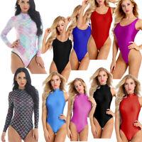 Womens One-piece Long Sleeve Turtleneck Mermaid Swimsuit Swimwear Bathing Suits