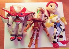 Disney Toy Story Action Figures Mixed Lot of 3 Woody Buzz Jessie #6965