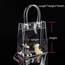 3 Talla Portable Claro Transparente Bolsa Hombro Plástico Bolso Bandolera