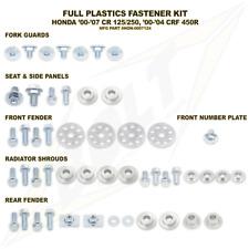 Bolt Hardware Kit Completo De Sujetador Plásticos MX-Honda CR125/250 00-07, CRF450 00-0