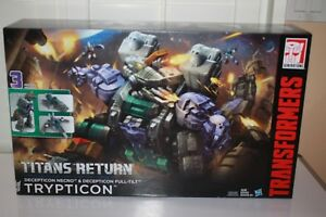 TRANSFORMERS TRYPTICON TITANS RETURN GENERATIONS READ FIRST DAMAGED BOX NEW