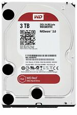 "New Western Digital Red 3TB Internal 3.5"" WD30EFRX Desktop Hard Drive Bare OEM"