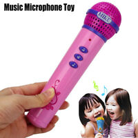Girls Boys Microphone Mic Karaoke Singing Kids Funny Music Educational Toy US
