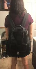 Large! Coach Backpack! Black Canvas! RARE!Could Be Unisex! Loveeeee This Bag!!!!