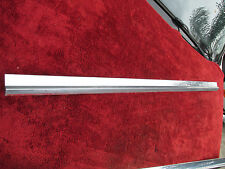 1967 Oldsmobile Cutlass Drivers Side Lower Door Stainless Body Molding Trim
