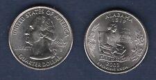 Etats Unis Quarter Dollar 2003 D Alabama série des Etats Neuve Rouleau
