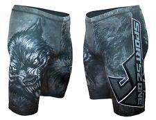 PROFESSIONAL Thermoactive HOSEN Fight Shorts MMA Kämpfer BJJ Vale Tudo WOLF L