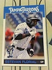 ESTEVAN FLORIAL 2018 Tampa Tarpons Card# 34 New York Yankees Top Prospect