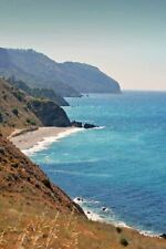 Spanish Coast Mediterranean Sea Andalusia Costa del Sol Spain Photograph Picture