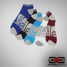 CROSSHATCH 5-pack Multi Colour *TALUS* Ankle Socks NEW & IN size UK 6-12*
