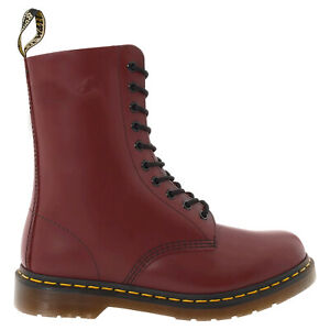 Dr. Martens Unisex Boots 1490 Casual Lace-Up Ankle Goodyear-Welt Leather