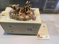 Royal Doulton Winnie The Pooh Collection - WP43 Sometimes Autumn Tickles Your ..