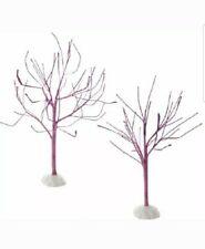 Department 56 Accessory Purple Sparkle Bare Branch Tree Halloween 4054269