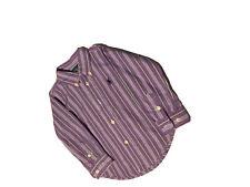 Ralph Lauren Boys Tops Button Down Shirt 4T Green Cotton