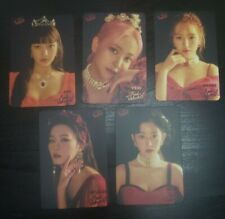 Red Velvet La Rouge Concert YES! Magazine's Official Photocard set (Unofficial)