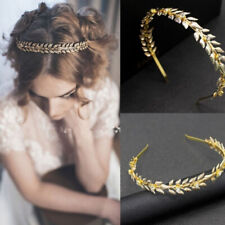 Women Leaf Hairband Headband Headpiece Bridal Wedding Tiara Hair Accessories JF