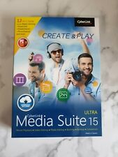 More details for cyberlink media suite 15 ultra - brand new
