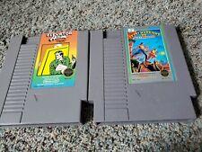 Ikari Warriors II Victory Road 2 & Elevator Action Nintendo NES Game Cartridges