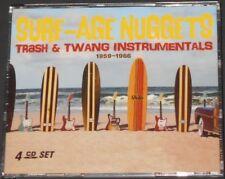 SURF-AGE NUGGETS trash & twang instrumentals 1959-1966 USA 4-CD new ROCK N ROLL