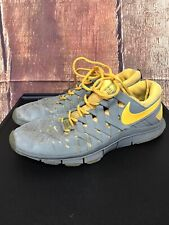 Nike Free Trainer 5.0 Gray/Yellow Shoes Men's Size 12