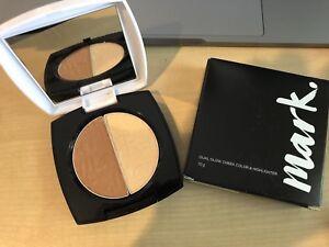 AVON MARK Dual Glow Cheek Colour & Highlighter BEACH BABE or VACATION GLOW 10g