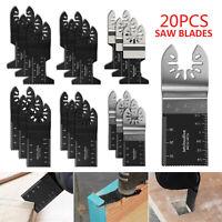 20pc Oscillating Multi Tool Saw Blades For Dewalt Makita Multitool Fein Wood