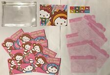 Sanrio Rare Vintage Hello Kitty In The Jungle Letter Double Side Note Papers