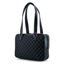 Mobile Edge Monaco Handbag Quilted Black / White MEWHBM6