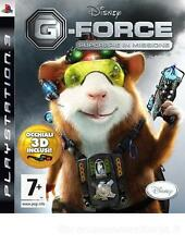 SONY PS3  G-FORCE   SUPERSPIE IN MISSIONE