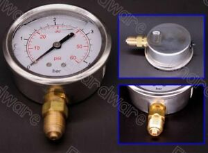 "LIQUID FILLED PRESSURE GAUGE 65MM 0-60PSI G1/4"" (LPG65/60)"