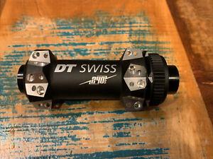 NEW DT Swiss 240s front hub 28h straight pull center lock 15x100 black/sliver