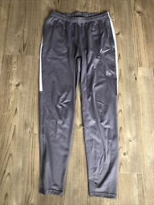 Nike Joggers Grey Mens Medium Lounge Wear / Gym / Jogging Bottom / Football