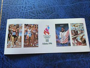 Georgia - Batum 1996 Olympic Games Atlanta Mini Sheet MNH Imperforate