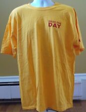 IKEA Sieze The Day T-Shirt XL Yellow / Red Print NEW! FREE SHIPPING