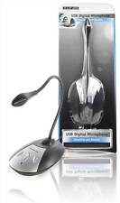 Konig Flexible USB Microphone for PC/Laptop/Desktop with Noise Cancellation