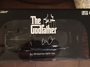 Al Pacino Autographed The Godfather 1:18 Scale Die-Cast 1941 Packard
