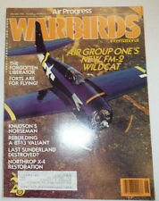 Warbirds International Magazine Air Group One's FM-2 May/June 1988 041015R