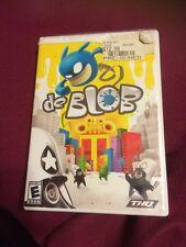 de Blob Nintendo Wii Game