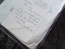 Vintage ephemera - #51- Lge. Collection letters re Harriet Smith dated 1938-1941