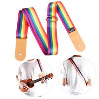 Adjustable Ukulele Shoulder Nylon Strap Belt Soft for Ukulele Hawaiian Guitar