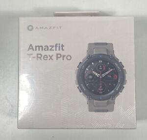 Amazfit T-Rex Pro Smartwatch Built-In GPS, Waterproof, Military Standard, Gray