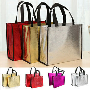 1pc Women Reusable Shopping Bag Large Capacity Canvas Storage Bags Tote Bag