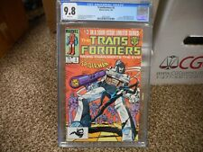 Transformers 3 cgc 9.8 Marvel 1985 Amazing Spiderman cover Venom Black suit WHTE