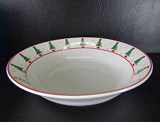 Sakura Magic Of Santa Debbie Mumm Coupe Soup Bowl Christmas Trees