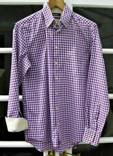 Ted Baker Checked Regular Double Cuff Formal Shirts for Men