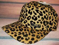 MENS VANS LEOPARD CHEETAH ANIMAL PRINT HAT ADJUSTABLE CAP ONE SIZE
