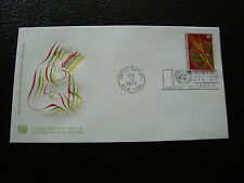 united NATIONS - envelope 1st day 13/4/1971 (prog food (cy64) united nations