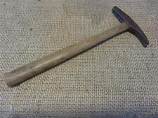 Vintage Tack Hammer > Antique Old Forge Blacksmith Shoe Hammers Iron Mallet 7848
