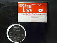"""MAXI 12"""" PROMO THE HEIGHTS How do you talk to an angel SP 1682 Mono face"""